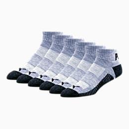 Calcetines deportivos tres cuartos para hombre [paquete de 6]